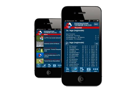 Federazione Ticinese di Calcio: la nuova App per iOS e